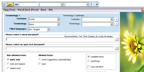 Terminology management system TippyTerm